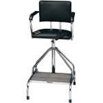 Whitehall Adjustable High-Boy Whirlpool Chair with Belt: Rubber Tips