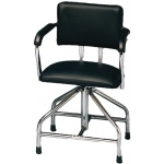 Whitehall Adjustable Low-Boy Whirlpool Chair with Belt: Rubber Tips