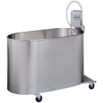 "Whitehall Podiatry Mobile Whirlpool: P-10-M, 22""Lx13""Wx12""D, 10 Gallon"