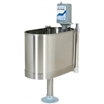 "Whitehall Extremity Stationary Whirlpool with Stand: E-22-SP, 32""Lx15""Wx25""D, 22 Gallon"