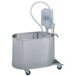 "Whitehall Extremity Mobile Whirlpool with Stand, E-15-MU: 15 Gallon, 25""Lx13""Wx15""D"