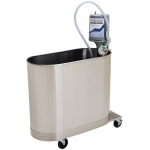 "Whitehall Extremity Mobile Whirlpool: E-45-M, 45 Gallon, 32""Wx15""Lx25""D"