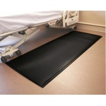 "FabSafe™ Fall Mat - 70"" L x 29"" W x 5/8"" D - Black"