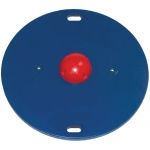 "CanDo® Balance Board Combo™ 16"" circular wobble/rocker board - 1.5"" height - red"