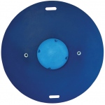 "CanDo® Balance Board Combo™ 16"" circular wobble/rocker board - 2.5"" height - blue"