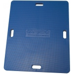 "CanDo® Balance Board Combo™ 14"" x 18"" wobble/rocker board - 2.5"" height - blue"