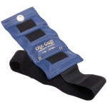 The Cuff® Deluxe Ankle and Wrist Weight - 1 lb - Blue