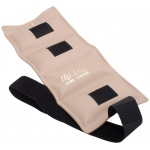 The Cuff® Deluxe Ankle and Wrist Weight - 6 lb - Beige