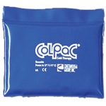 "ColPaC Blue Vinyl Cold Pack: Quarter Size, 5.5"" x 7.5"", Case of 12"
