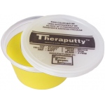 CanDo® Antimicrobial Theraputty® Exercise Material - 2 oz - Yellow - X-soft