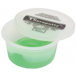 CanDo® Antimicrobial Theraputty® Exercise Material - 2 oz - Green - Medium