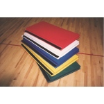 Fabrication Enterprises CanDo Accordion Mat: Add-A-Mat™ 2 x 4 Foot Panel, 2 Inch PU Foam with Cover, Specify Color