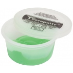 CanDo® Antimicrobial Theraputty® Exercise Material - 3 oz - Green - Medium