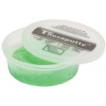 CanDo® Antimicrobial Theraputty® Exercise Material - 6 oz - Green - Medium