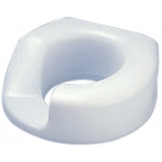 Standard Arthro® toilet seat with slip-in bracket, right