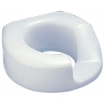 Standard Arthro® toilet seat with bolt-down bracket, left