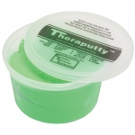 CanDo® Antimicrobial Theraputty® Exercise Material - 1 lb - Green - Medium
