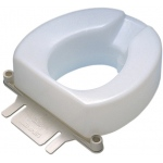 Toilet seat splash guard