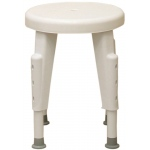 Shower stool, rotating