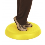 "CanDo® Aerobic Pad - Yellow - 20"" diameter, case of 10"