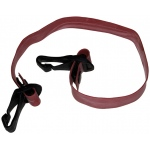 CanDo® Adjustable Exercise Band, Red - light