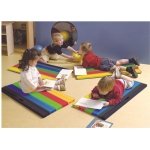 "Fabrication Enterprises CanDo Cushy-Air Mat: Child Size, 36 x 17 x 1.2"" Inch, Case of 10"