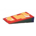 Fabrication Enterprises CanDo Incline Mat: Incline Mat, With Positioning Strap, 3 x 6 Feet, 16 Inch Height, Specify Color