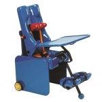Tumble Forms Carrie Seat with Mobile Base: Small W/Tray and Footrest