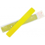 "Dycem Non-Slip Self-Adhesive Strips: (16""X1-1/8""), 3 Each, Yellow"