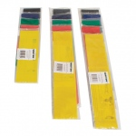 "CanDo® Band Exercise Loop - 3 piece set (10"",15"",30""), (1 per set: yellow, red, green, blue, black)"