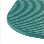 "Airex Exercise Mat: Aqua, Fitline 180, 23"" x 72"" x 0.4"", Case of 10"