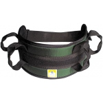 Generic Padded Transfer Belt: Auto Buckle, Medium, Green