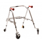 Fabrication Enterprises Kaye Posture Rest Walker with Seat: Youth
