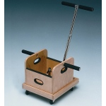 Fabrication Enterprises FCE Work Device: Mobile Weighted Cart with T-Handle and Accessory Box