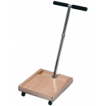 Fabrication Enterprises FCE Work Device: Mobile Weighted Cart with T-Handle