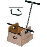Fabrication Enterprises FCE Work Device: Weighted Sled with T-Handle and Accessory Box