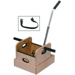 Fabrication Enterprises FCE Work Device: Weighted Sled with Straight Handle and Accessory Box