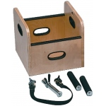 Fabrication Enterprises FCE Work Device: Lifting Box with Handles for Weight Sled, 13 x 13 x 12 Inch