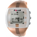 Polar FT4F Heart Rate Monitor Watch: Bronze/Bronze, For Female