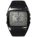 Heart Rate Monitor Watch - Polar® FT60M - Black/White - for Male