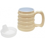 Generic Hand-To-Hand Mug 10oz with Spout Lid