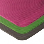 "Airex Exercise Mat: Lime, Fitline 140, 23"" x 56"" x 0.4"", 20 in A Case"