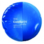 Fabrication Enterprises Relief Pak Blue Vinyl Cold Pack: Circular, 10 Inch Diameter, Case of 12