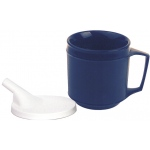 Generic Weighted Cup: Tube Lid 8 oz.