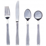 Generic Weighted Cutlery: Straight,7.3 oz., Teaspoon