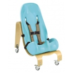 Special Tomato® Soft-Touch™ Sitter Seat - seat and mobile base - size 4 - teal