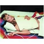 Fabrication Enterprises Electric Moist Heating Pad: King Size, 13 x 27 Inch