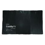 Fabrication Enterprises Relief Pak Black Urethane Cold Pack: Oversize, 11 x 24 Inch