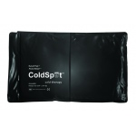Fabrication Enterprises Relief Pak Black Urethane Cold Pack: Half Size, 7 x 11 Inch