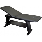 "Eurotech Treatment Table: Fixed Height, 78"" L x 28"" W x 30"" H, 2-Section"